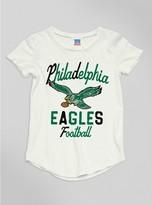 Junk Food Clothing Kids Girls Nfl Philadelphia Eagles Tee-sugar-m