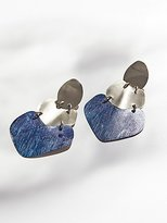 Sibilia Patina Plate Earrings by at Free People