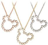 Disney Diamond Mickey Mouse Silhouette Necklace - 14K