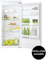 Hotpoint HS12A1DH 122cm High 55cm, Wide Built-in Fridge With Optional Installation - White