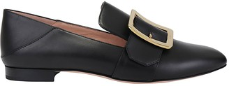 Bally Janelle Buckle Strap Loafers