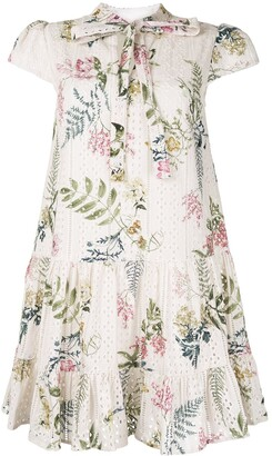 We Are Kindred floral shift mini dress