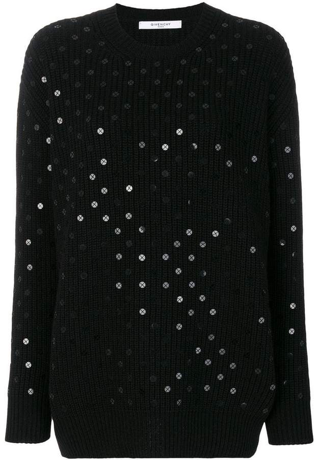 Givenchy sequinned jumper