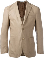 Boglioli front pocket blazer - men - Cotton/Nylon/Virgin Wool - 48