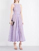 Elie Saab Sleeveless floral-lace dress