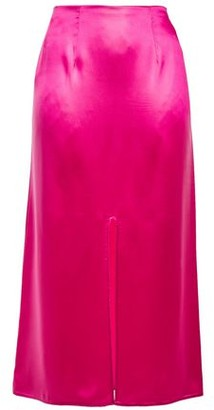 Marni Satin Midi Skirt