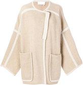 Chloé Blanket oversized coatigan