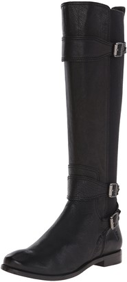 Frye Women's Anna Gore Tall-BLFLE Riding Boot