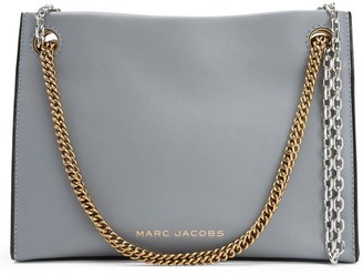 Marc Jacobs Small Double Link Leather Crossbody Bag