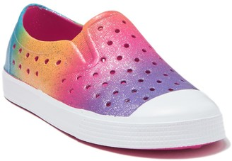 Harper Canyon Surf Perforated Slip-On Sneaker (Toddler & Little Kid)