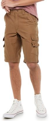Urban Pipeline Men's Stretch Ultraflex Canvas Cargo Shorts