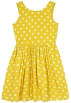 Yumi Polka Dot Day Dress Blue