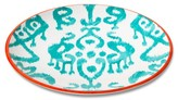 Mudhut Ikat 10.5in Melamine Dinner Plate - Blue/Red