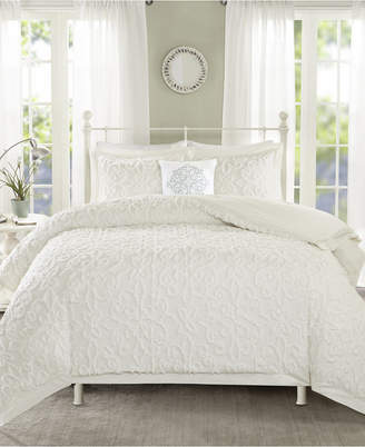 Madison Home USA Sabrina 4-Pc. Tufted Cotton Chenille King/California King Comforter Set Bedding