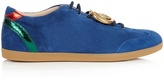 Gucci Bambi suede trainers