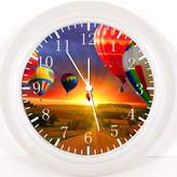 """Ikea New Hot Air Balloon Wall Clock 10"""" Will Be Nice Gift and Room Wall Decor Y120"""