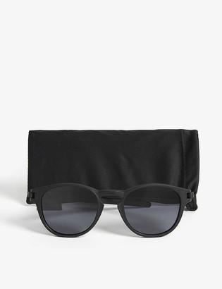 Oakley OO9265 Matte black oval sunglasses