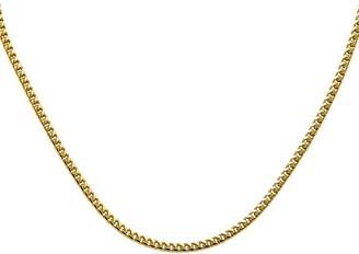 """14K Franco Link 22"""" Necklace, 31.7g"""