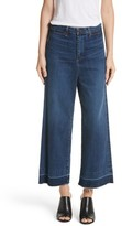 Veronica Beard Women's Ali High Waist Gaucho Jeans