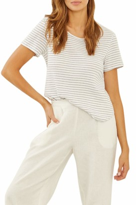 Three Dots Women's Cotton T-Shirt