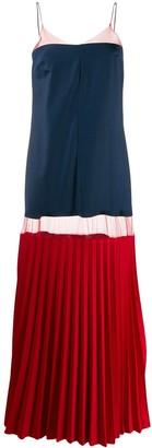 Couture Atu Body colour-block maxi dress