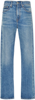 Brock Collection Wright Light Vintage High Rise Jeans