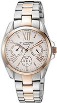 Stuhrling Original Women's 494.03 Regent Dynamo 16k Rose Gold Plating and Stainless Steel Two-Tone Watch
