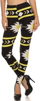 Always Black and Yellow Neon Spandex Stretch Colorful Leggings