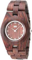 WeWood Women's Odyssey ODYSSEY- Wood Analog Quartz Watch with Dial