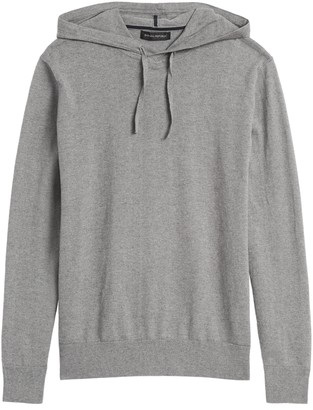 Banana Republic Cotton Cashmere Sweater Hoodie