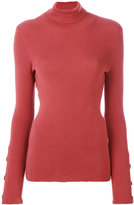 See by Chloe classic roll-neck sweater - women - Cotton/Cashmere - XS