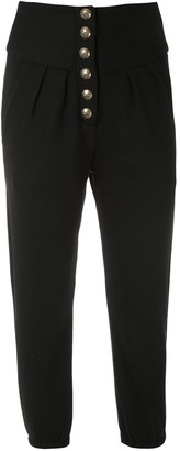 Andrea Bogosian button-up track trousers