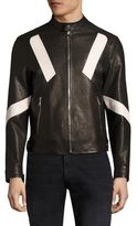 Neil Barrett Biker Leather Jacket