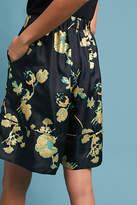 Cynthia Rowley Printed Silk Shorts
