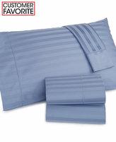 Charter Club Damask Stripe Full 4-pc Sheet Set, 500 Thread Count 100% Pima Cotton