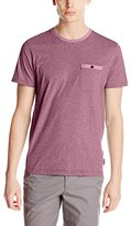 Ted Baker Men's Polrole-All Over Printed Crew T-Shirt-Modern Slim Fit