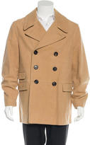 Marc Jacobs Notch-Lapel Double-Breasted Peacoat