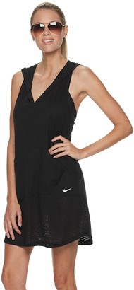 Nike Women's Hooded Racerback Cover-Up