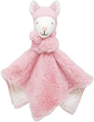 Carter's Baby Girl Pink Llama Cuddle Plush Blankie