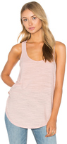 Heather Cotton & Gauze Panel Tank