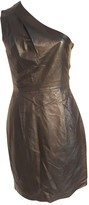 Jimmy Choo For H&M For H&m Black Leather Dress for Women
