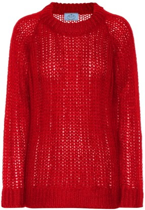 Prada Mohair blend sweater