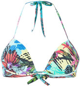 Ermanno Scervino tropical print bikini top - women - Polyamide/Polyester/Polyurethane/Spandex/Elastane - S