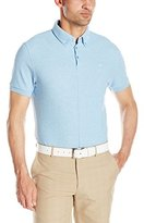 J. Lindeberg Men's Rubi Bd Regular-Fit Jl Tour Pique Golf Polo Shirt