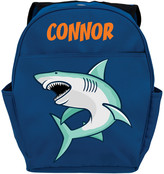 Personalized Planet Backpacks - Blue Shark Personalized Backpack