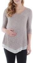 Everly Grey Women's Regina Maternity Swing Top
