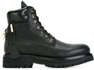Buscemi Lace-Up Boots