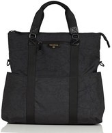 Infant Twelvelittle 'Courage' 3-In-1 Water Resistant Nylon Diaper Tote - Black