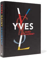 Abrams Yves Saint Laurent By Farid Chenoune And Florence Muller Handcover Book - Black