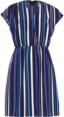 Halogen Faux Wrap Dress